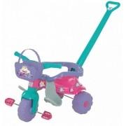 Triciclo Tico Tico Pic Nic Com Aro Rosa 2567 Magic Toys