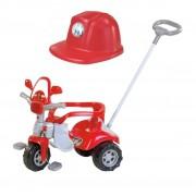 Triciclo Tico Tico Zoom Bombeiro Com Capacete 2712C Magic Toys