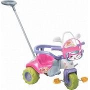 Triciclo Tico Tico Zoom Meg Com Aro 2711L Magic Toys