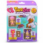 Twozies Pré-Históricos Kit Amigos Com 6 4011 Dtc