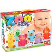 Zoo Baby Animais Para Montar e Desmontar  Big Star