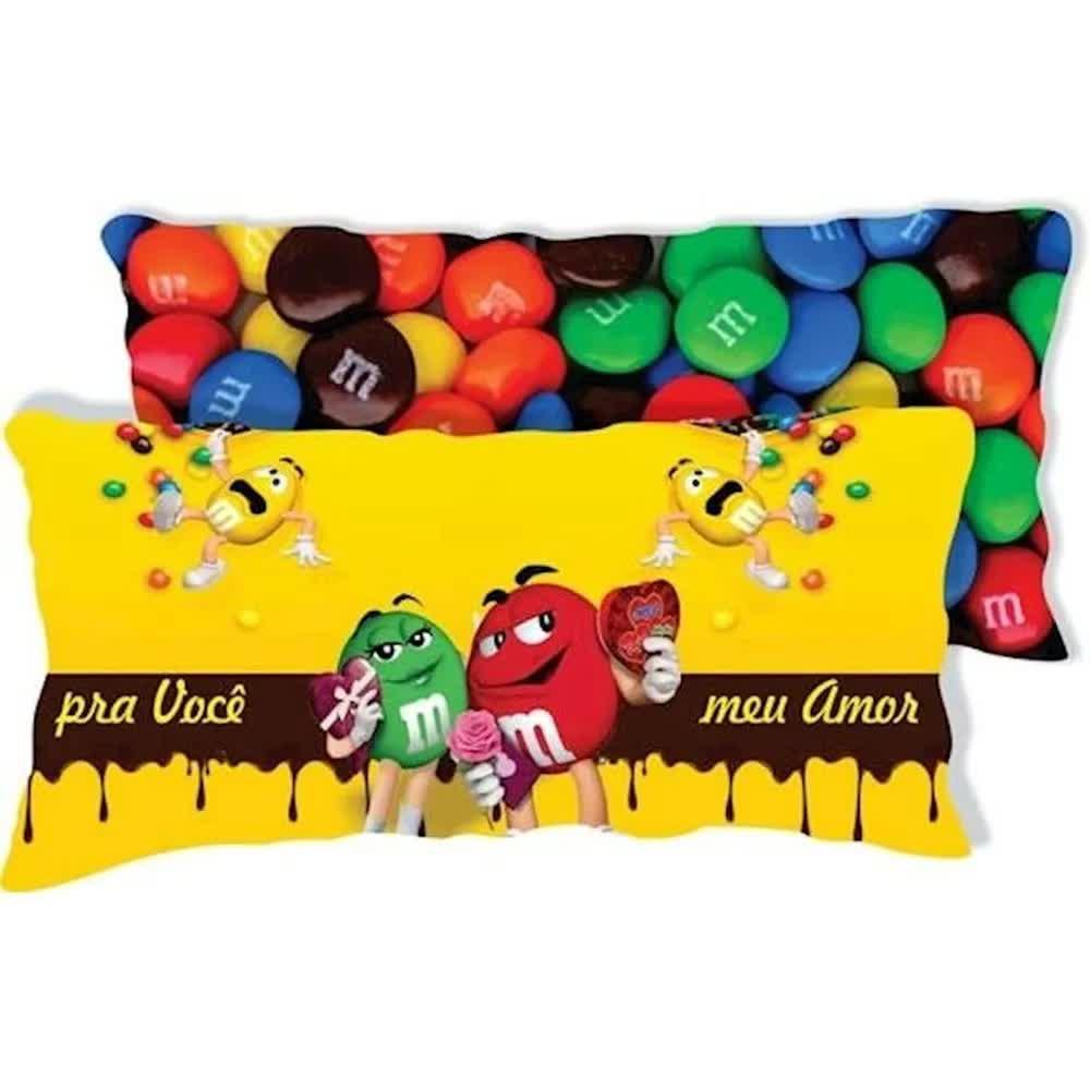 Almofada Decorativa M&M  Para Você Meu Amor Nsw