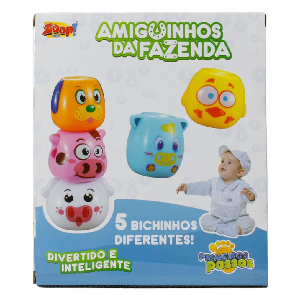 Amiguinhos Da Fazenda De Empilhar Zoop Toys