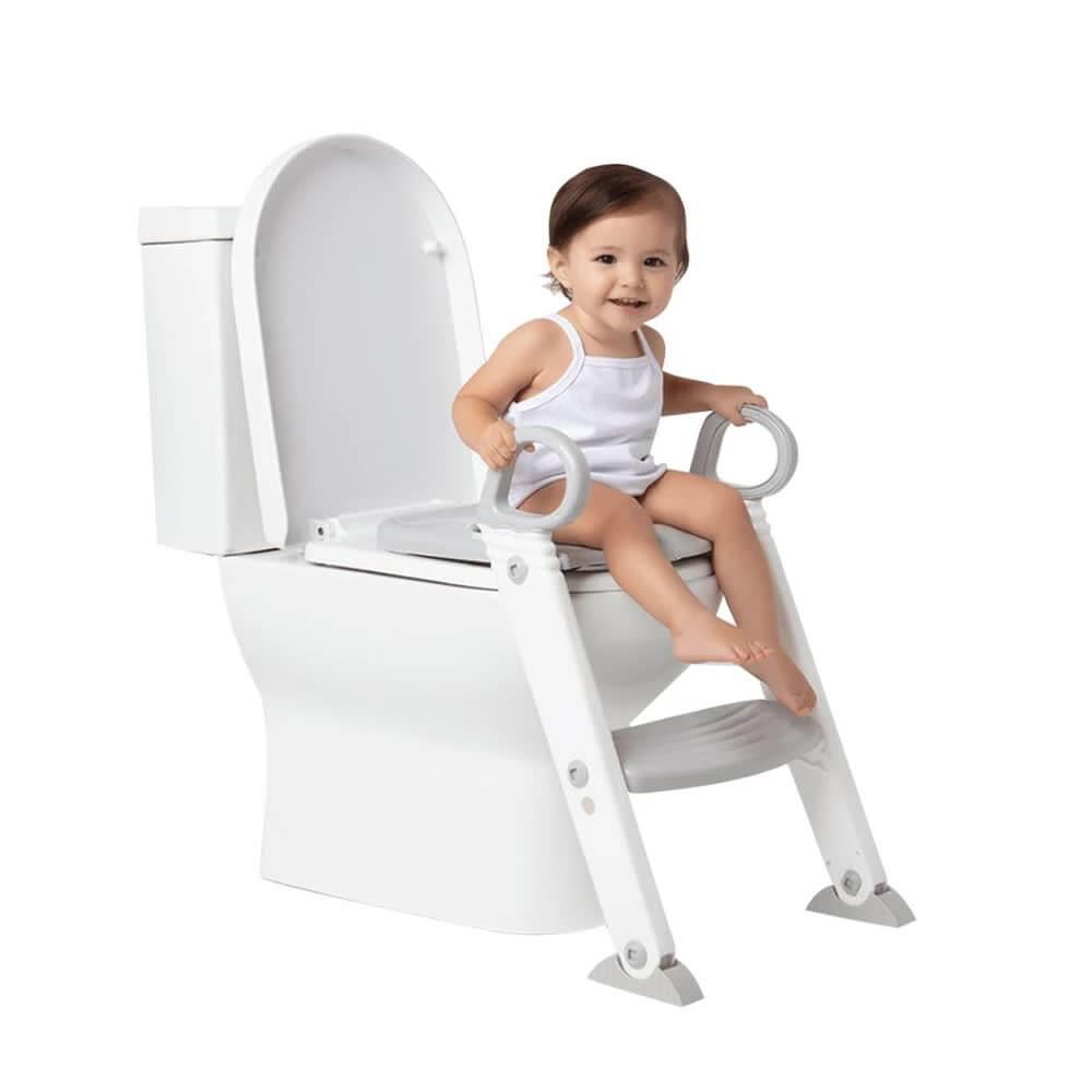 Assento Redutor Com Escada Cinza 11991 Buba