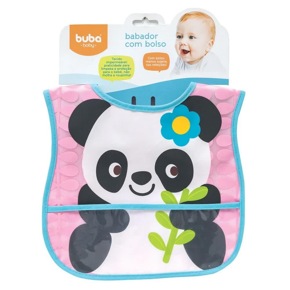 Babador Com Bolso Panda 5980 Buba