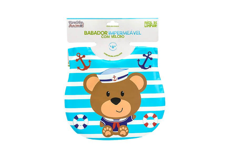 Babador Infantil Turminha Animal Bb1803-6 Unik