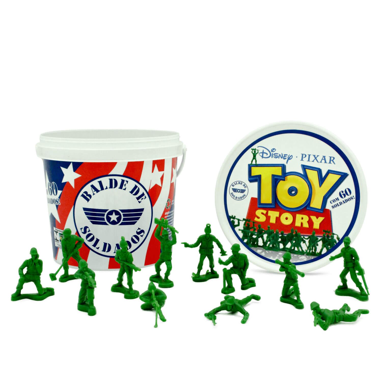 Balde Soldados Miniatura Toy Story Toyng