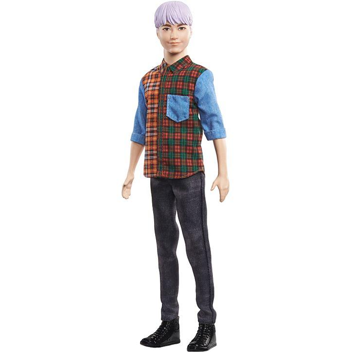 Barbie Boneco Ken Fashionistas DWK44 Mattel