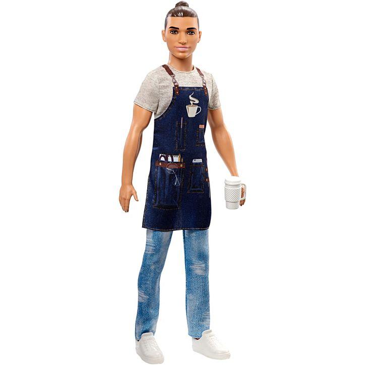 Barbie Boneco Profissões Ken FXP01 Mattel