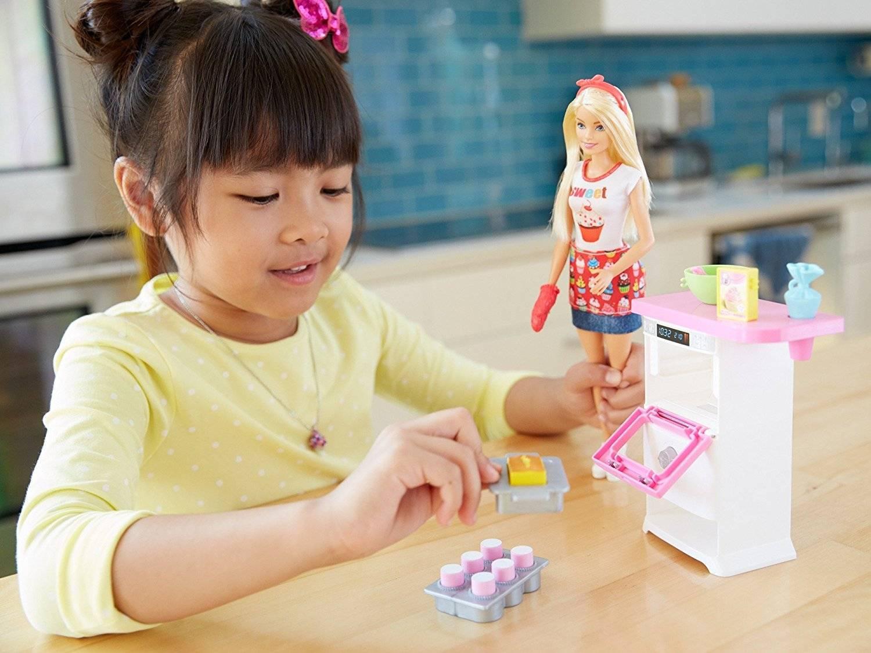 Barbie Cozinhando E Criando Chef De Bolinhos FHP57 Mattel
