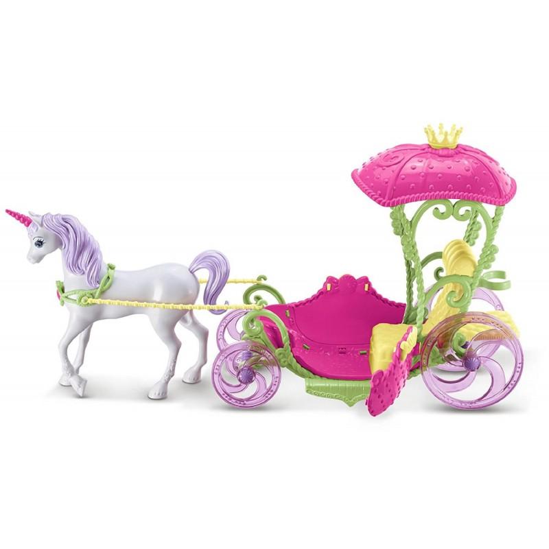 Barbie Dreamtopia Carruagem Com Princesa Barbie DYX31 Mattel