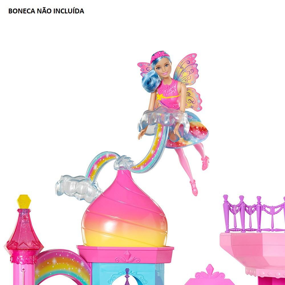 Barbie Dreamtopia Castelo Arco-Íris DPY39 Mattel
