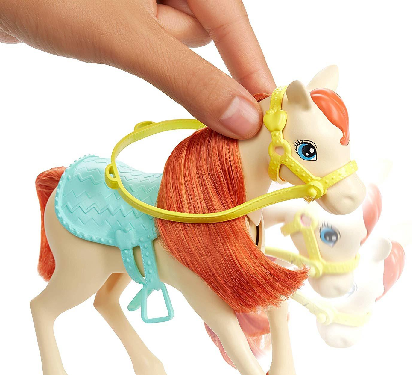 Barbie Family Barbie E Chelsea Com Cavalo E Ponei Fxh15 Mattel