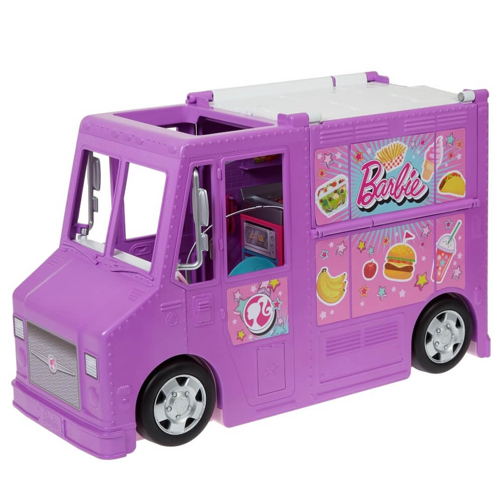 Barbie Food Truck Caminhão De Comida GMW07 Mattel