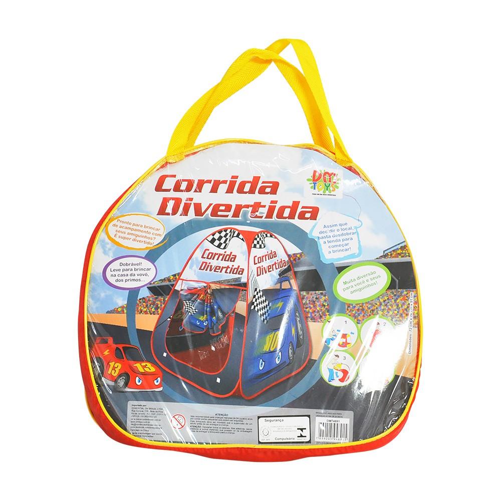 Barraca Infantil Corrida Divertida Dmt4691 Dm Toys