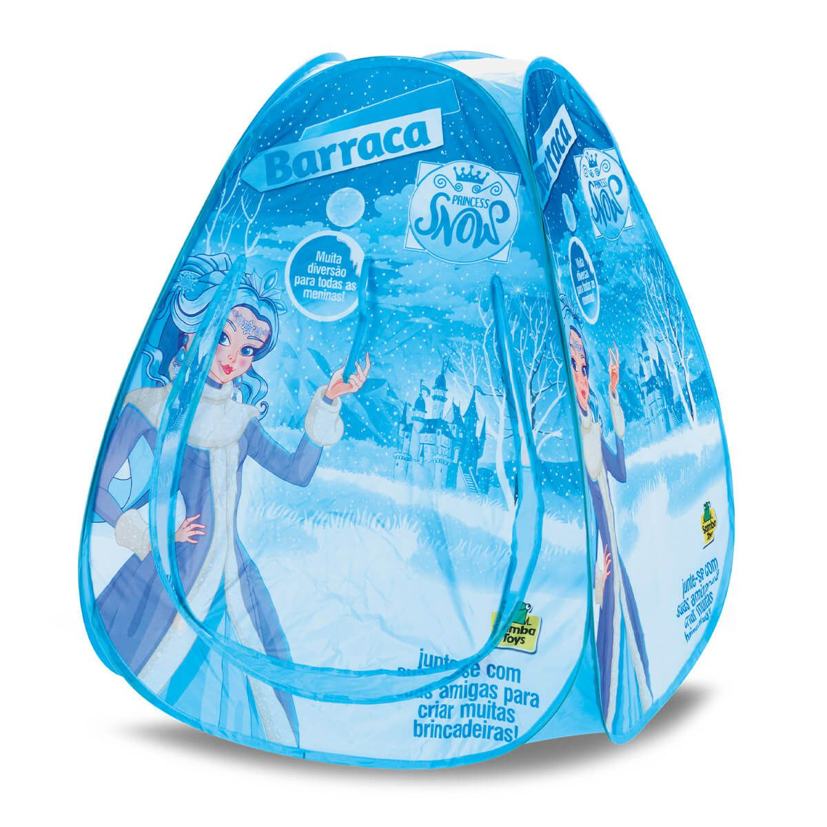 Barraca Infantil Princess Snow Com Bolinhas 5306 Samba Toys