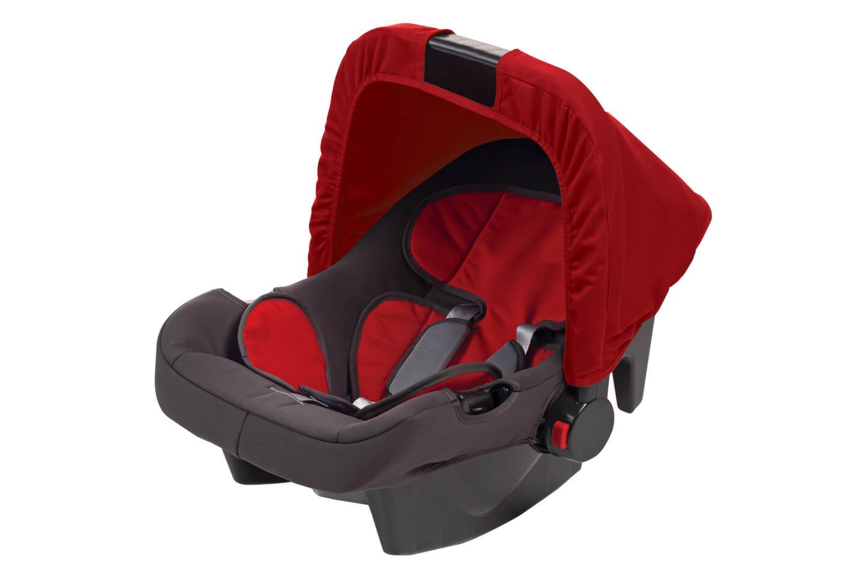 Bebê Conforto Até 13 kg Vermelho Coral Hercules