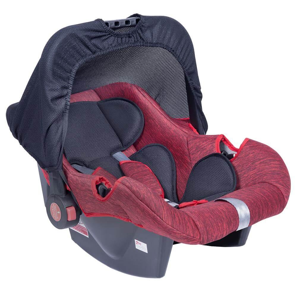 Bebê Conforto Vermelho Mesclado De 0 A 13 Kg Styll Baby