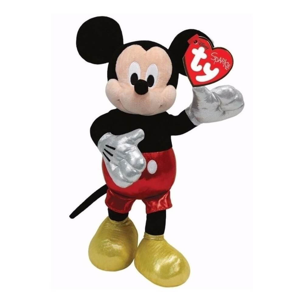 Bicho De Pelucia Mickey Mouse Ty Beanie Babies 3718 Dtc