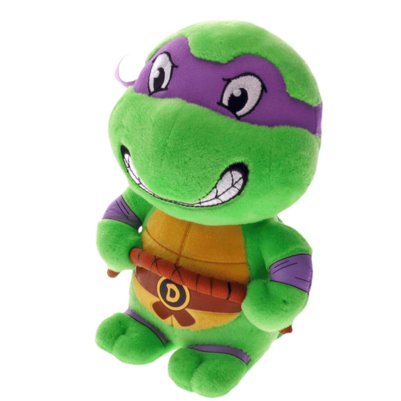Bicho De Pelucia Tartarugas Ninja Donatello Ty Beanie Babies Dtc