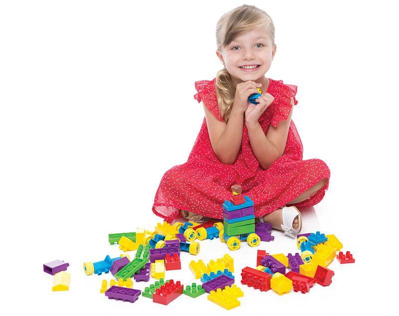 Blocos De Montar Tand Kids 80 Peças 2296 Toyster