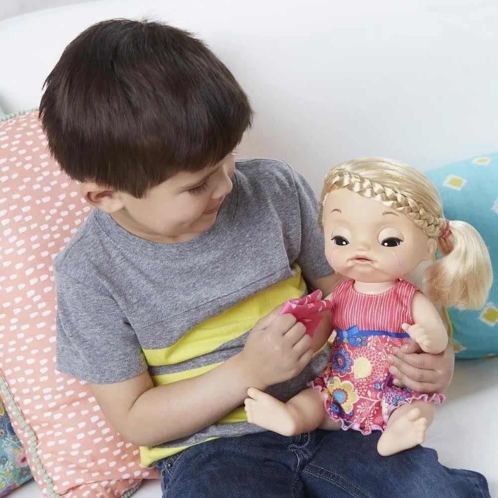 Boneca Baby Alive Bebê Doces Lágrimas Loira C0957 Hasbro