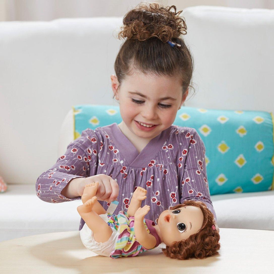 Boneca Baby Alive Pequena Artista Morena C0961 Hasbro
