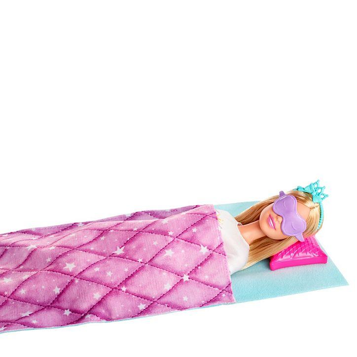 Boneca Barbie Aventura Princesas Festa Do Pijama GJB68 Mattel
