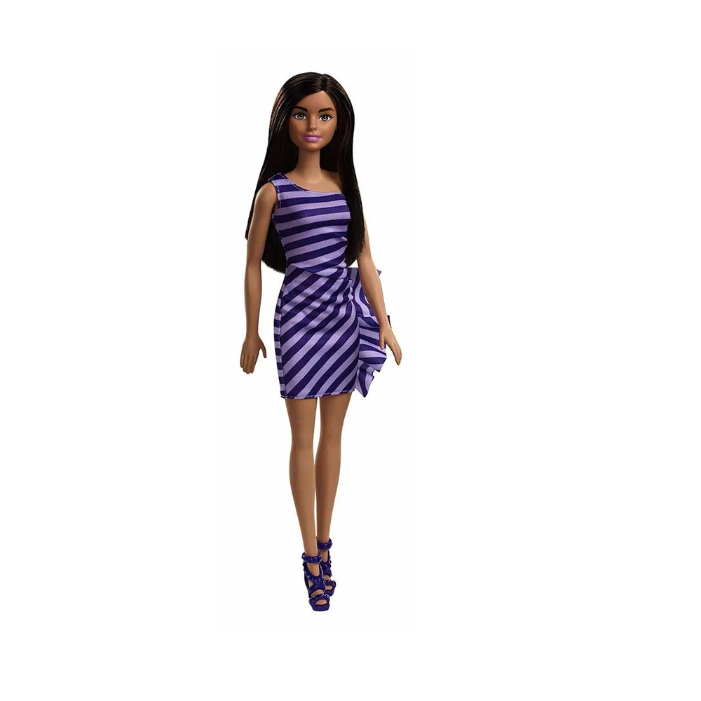 Boneca Barbie Básica Glitter T7580 Mattel