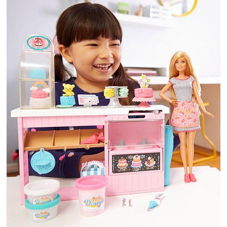 Boneca Barbie Chef De Decoração Para Bolos GFP59 Mattel