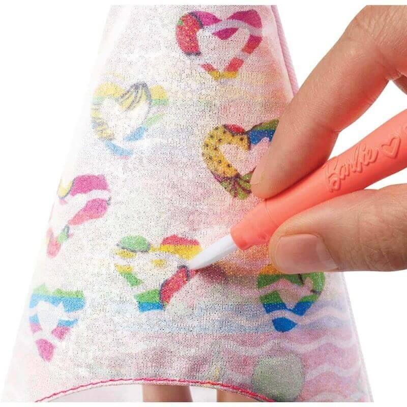 Boneca Barbie Crayola Surpresa De Frutas GBK18 Mattel