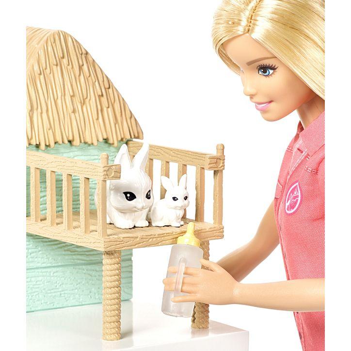 Boneca Barbie Cuidadora Dos Bichinhos FCP78 Mattel