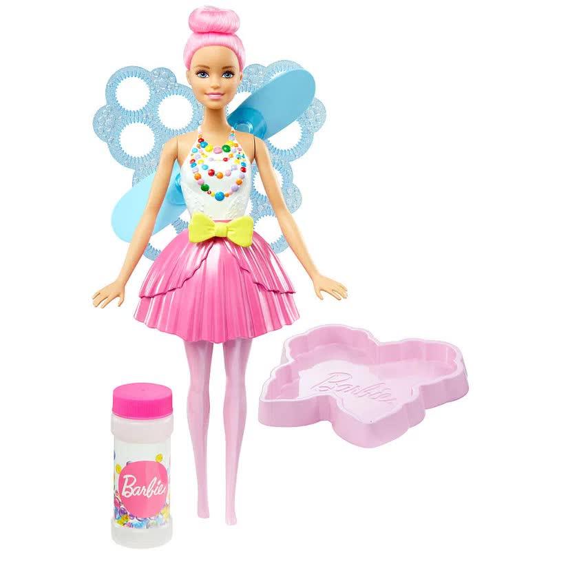 Boneca Barbie Dreamtopia Fada Bolhas Mágicas DVM95 Mattel