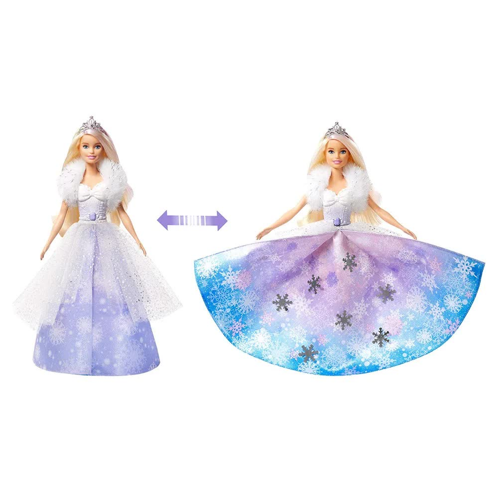 Boneca Barbie Dreamtopia Princesa Vestido Mágico GKH26 Mattel