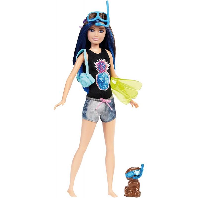 Boneca Barbie E Os Golfinhos Mágicos Aquática FBD68 Mattel