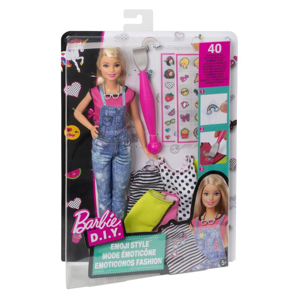 Boneca Barbie Fashion Estiolo Emoticon Mattel DYN93