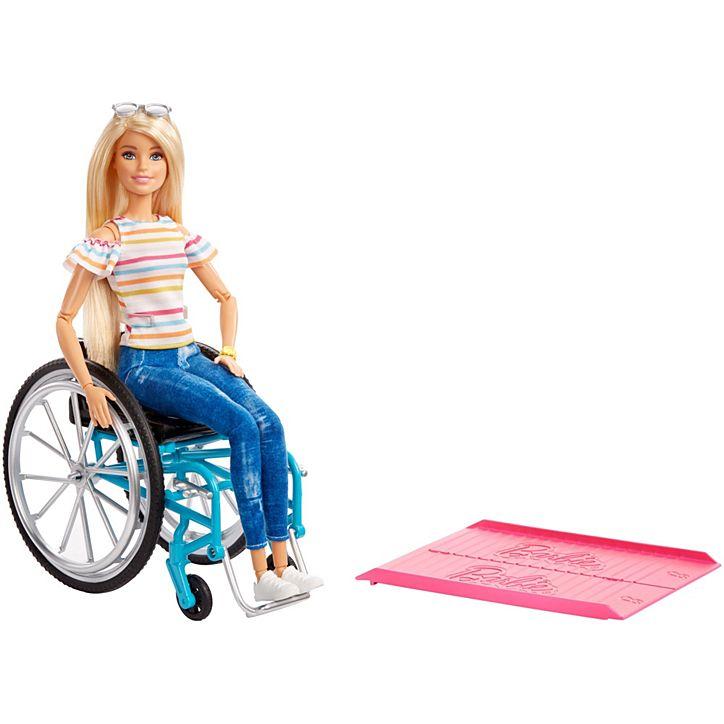 Boneca Barbie Fashionistas Cadeira De Rodas GGL22 Mattel