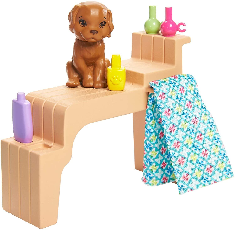 Boneca Barbie Mani-Pedi  Spa Salão de Manicure GHN07 Mattel