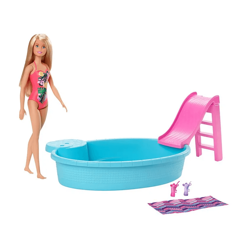 Boneca Barbie Piscina Chique GHL91 Mattel