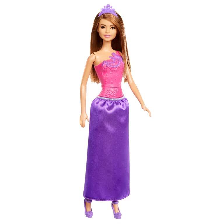 Boneca Barbie Princesa Básica DMM06 Mattel