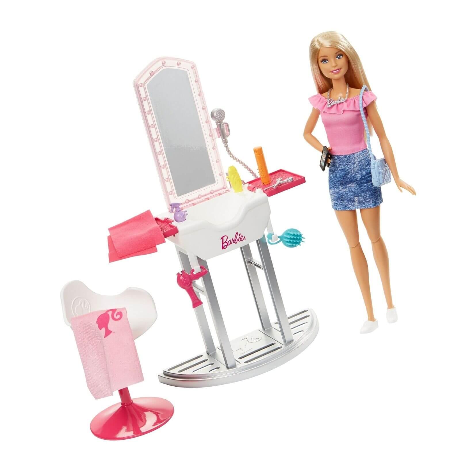 Boneca Barbie Real Com Móveis E Acessórios DVX51 Mattel