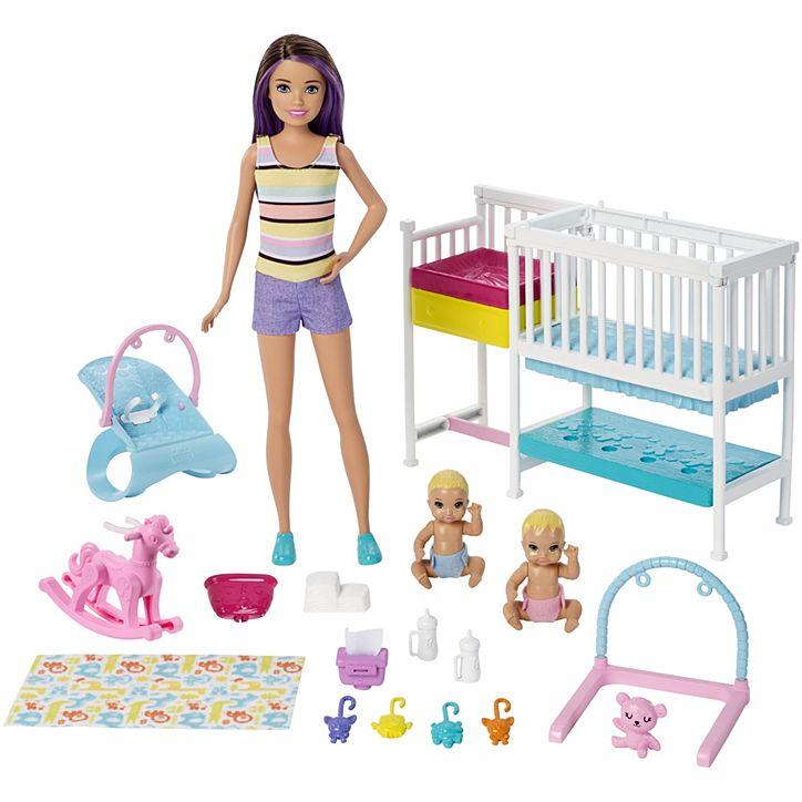 Boneca Barbie Skipper Babysitters Berçário GFL38 Mattel