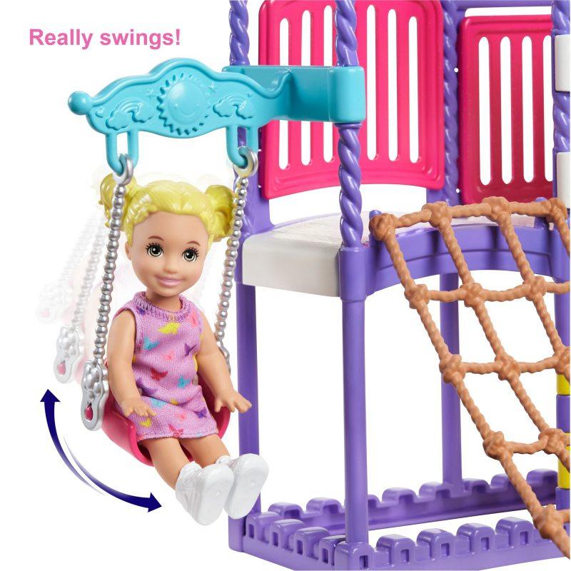 Boneca Barbie Skipper Babysitters Dia No Parque GHV89 Mattel
