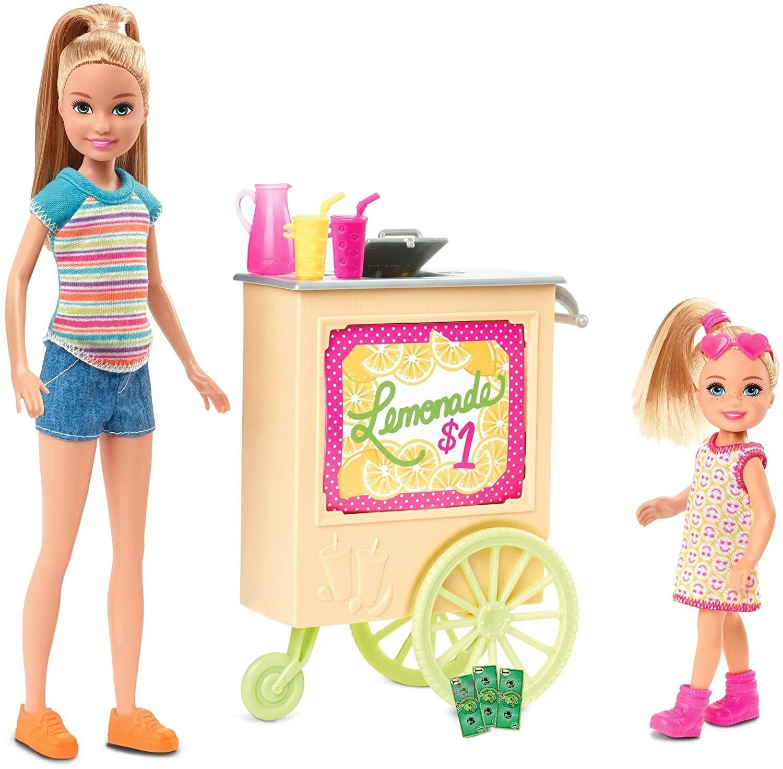 Boneca Barbie Stacie Stand Limonada GHT07 Mattel