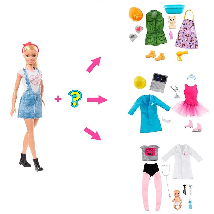 Boneca Barbie Surpresa Carreiras GLH62 Mattel