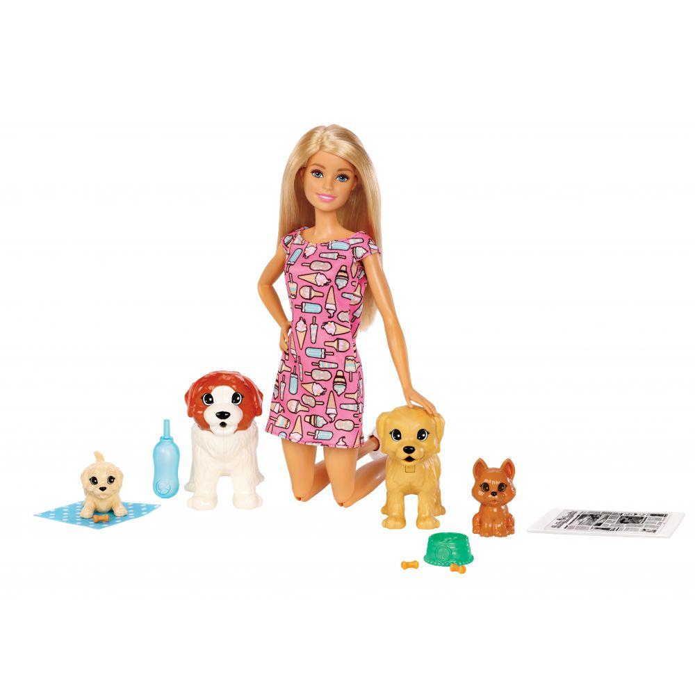 Boneca Barbie Treinadora De Cachorrinho FXH08 Mattel