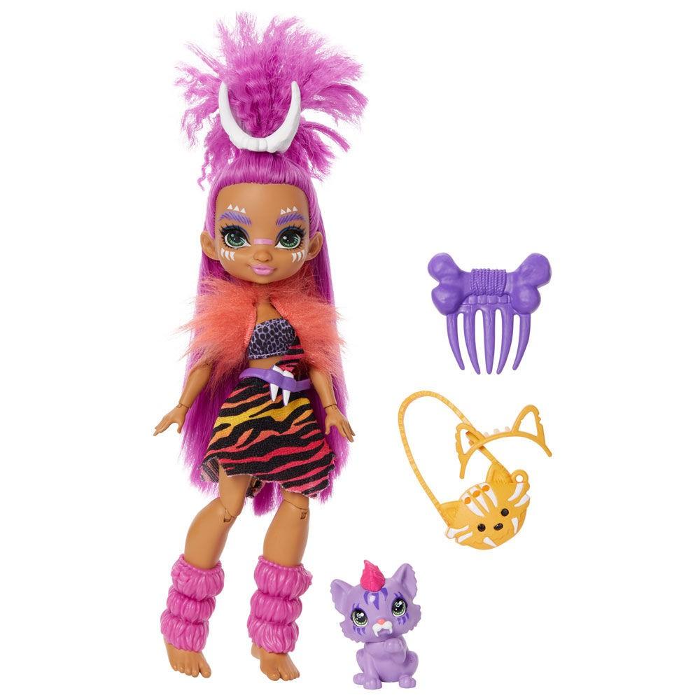 Boneca Cave Club Com Animal GNL82 Mattel