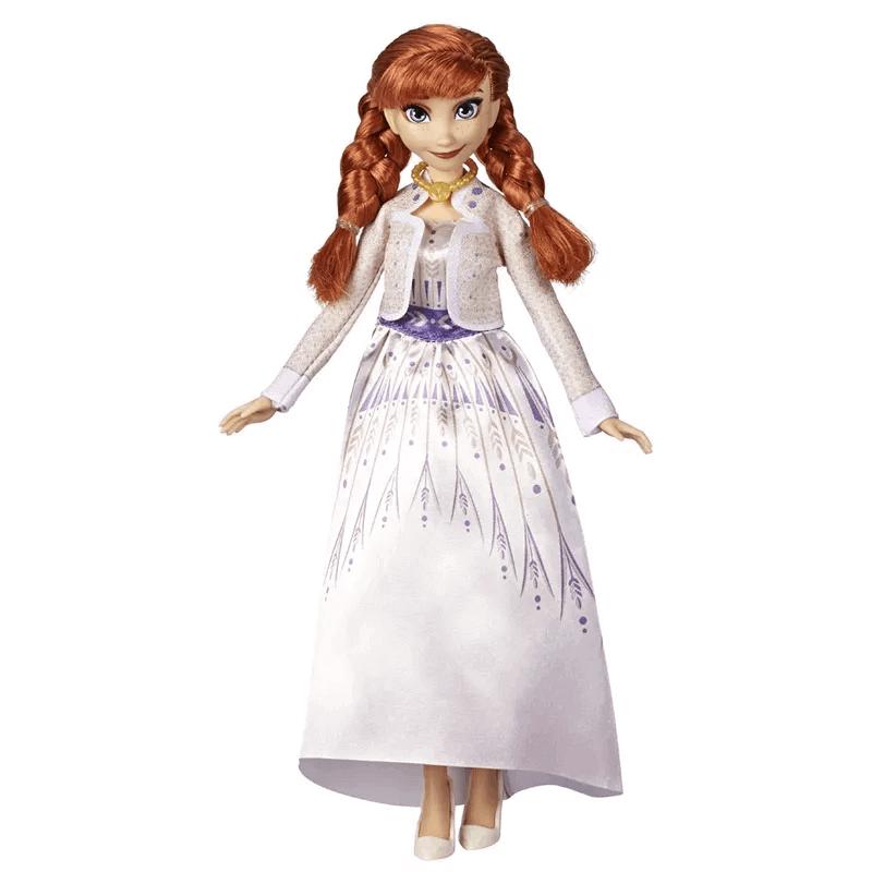Boneca Frozen 2 Com Duas Trocas De Roupa Anna E5500 Hasbro