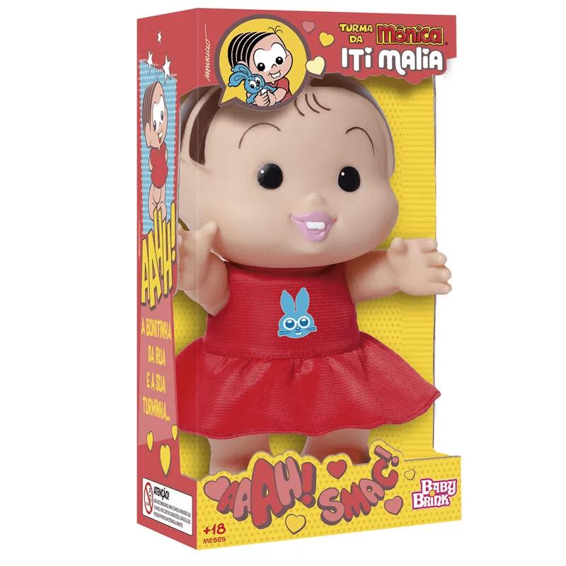 Boneca Mônica Iti Malia 1020 Baby Brink