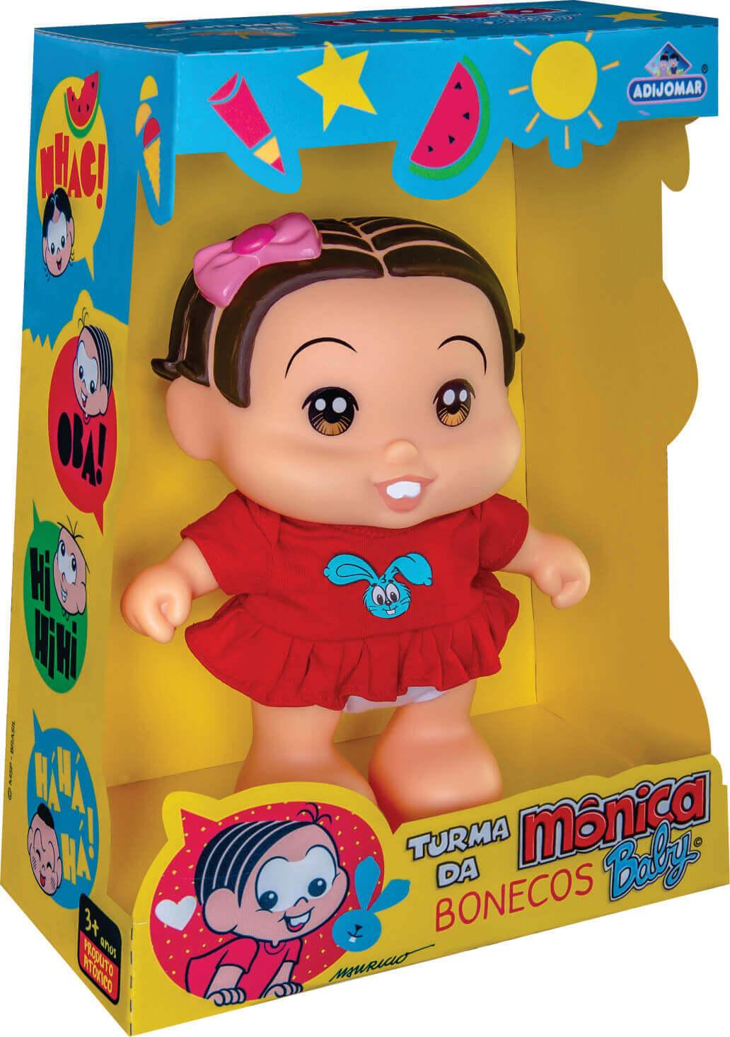 Boneca Mônica Turma Da Mônica 412 Adijomar